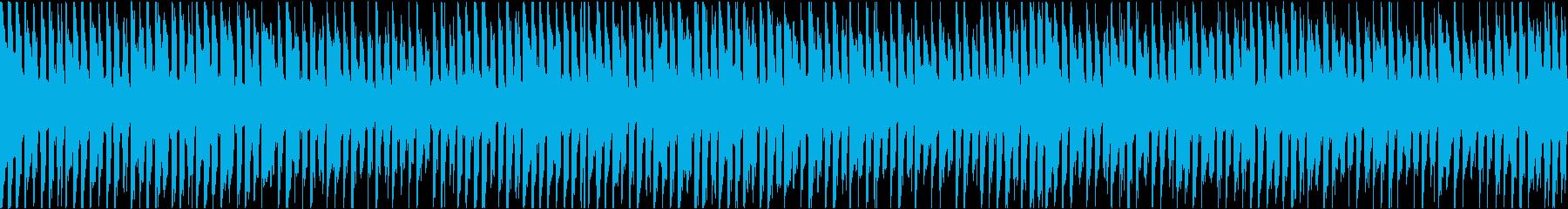 感動的なアコースティックポップ・ループの再生済みの波形