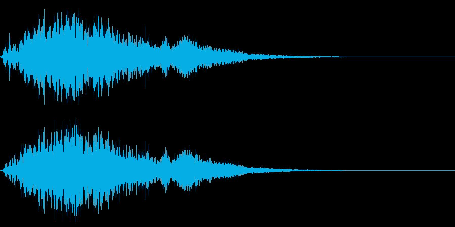 ビリビリ!バチバチ!電撃・放電音の再生済みの波形