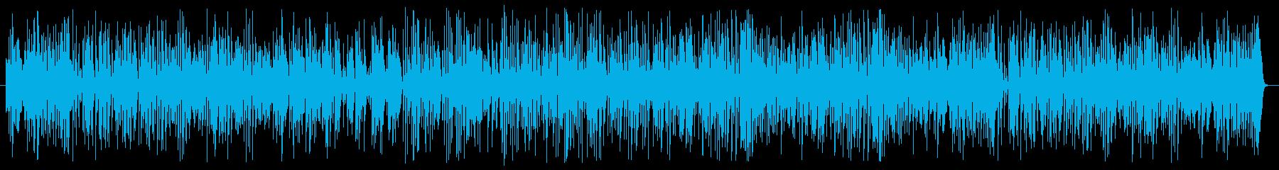 ラグタイムピアノスタイル。ピアノソ...の再生済みの波形