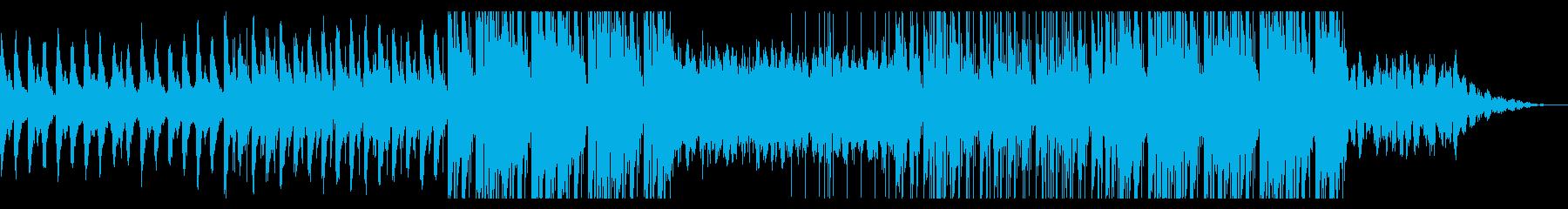 幻想的なヒップホップの再生済みの波形