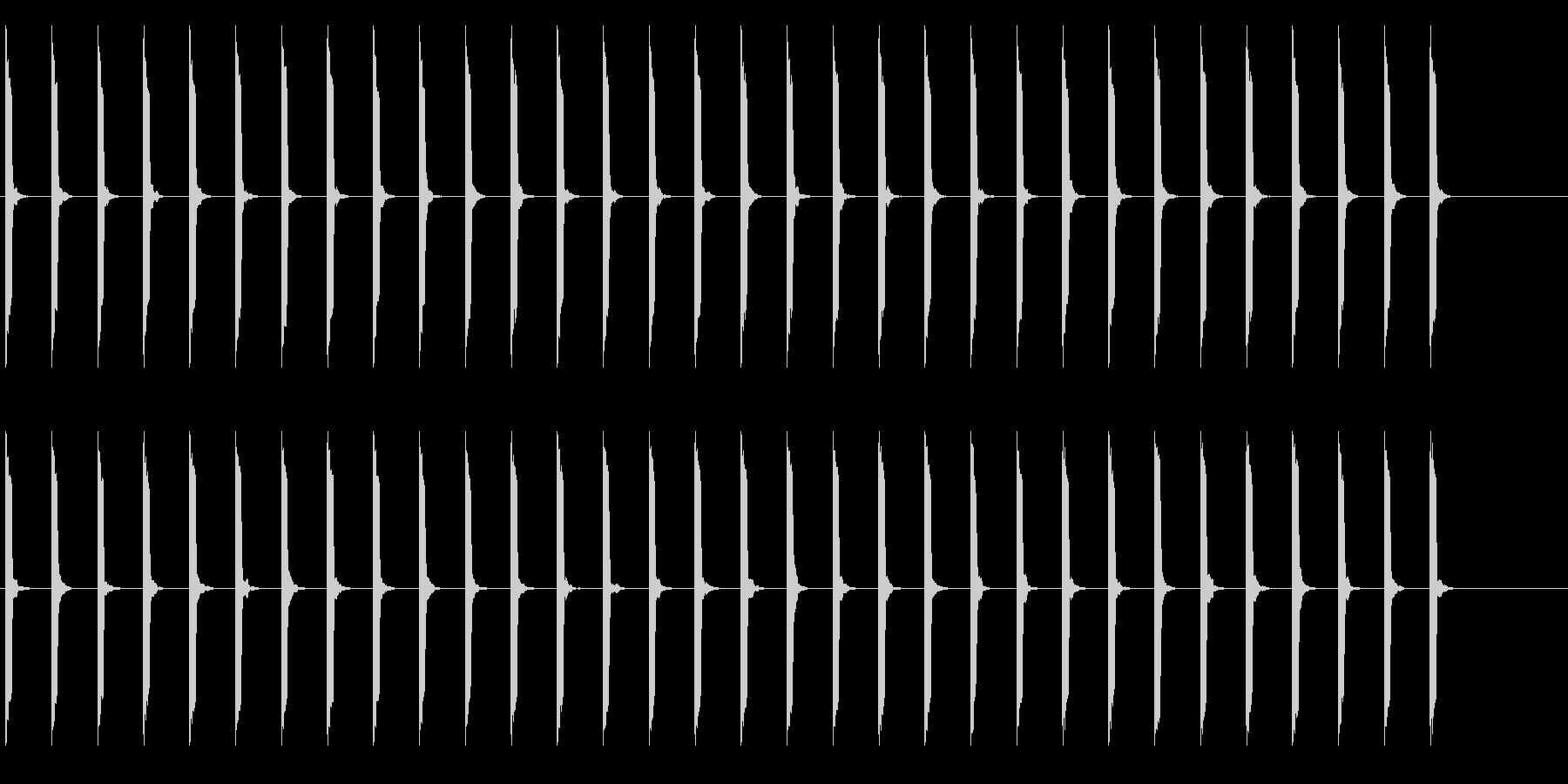 心電図の音-4-3(BPM60)の未再生の波形