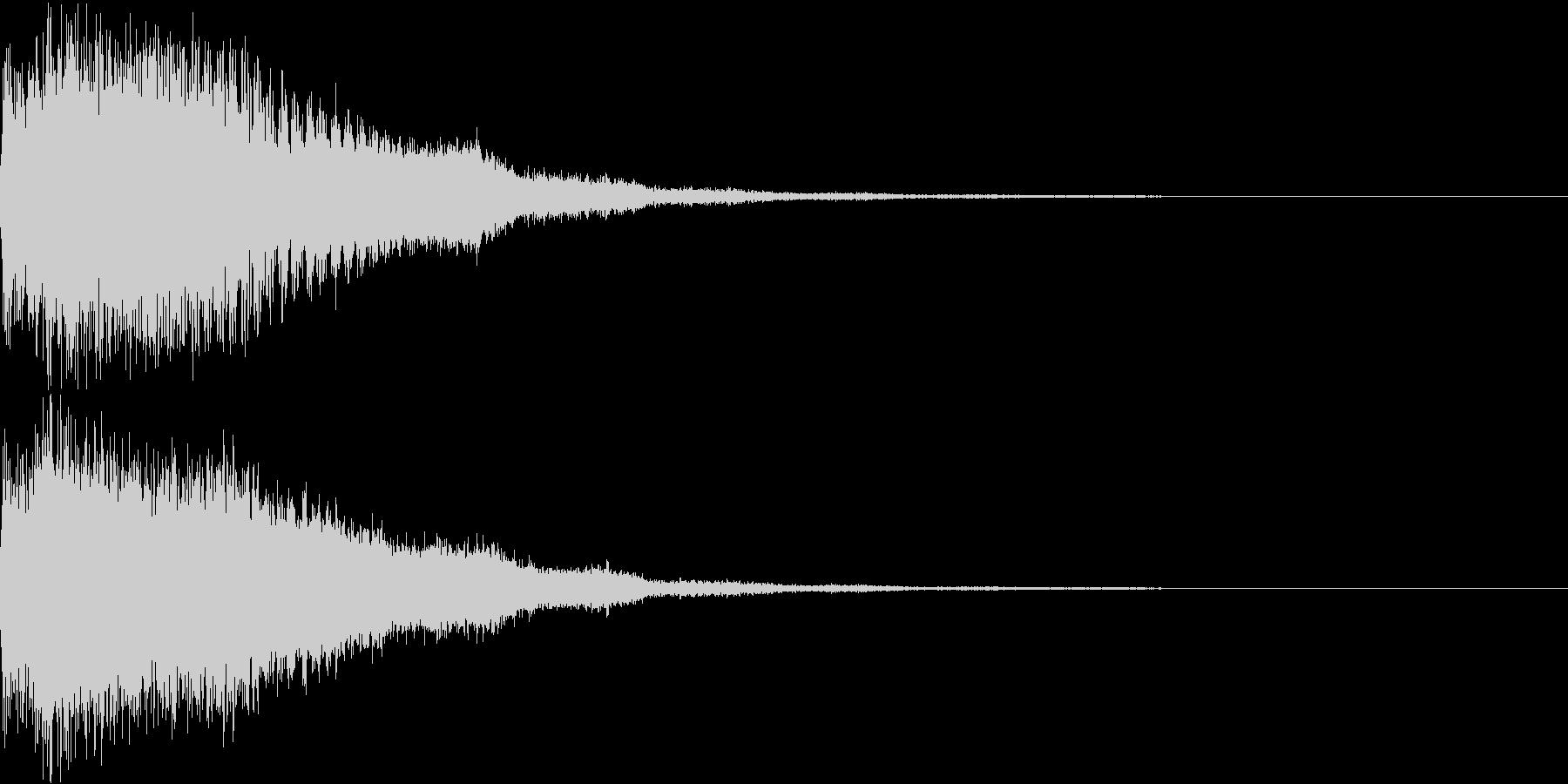 ロボット 合体 ガシーン キュイン 32の未再生の波形