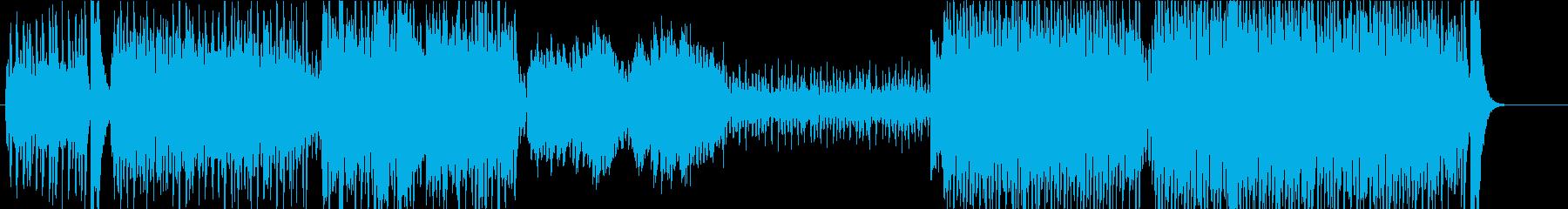 疾走感 オーケストラ 明るい ポップの再生済みの波形