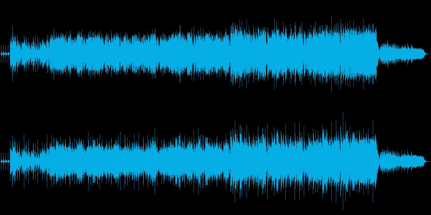 和風横笛とお琴の幻想曲の再生済みの波形
