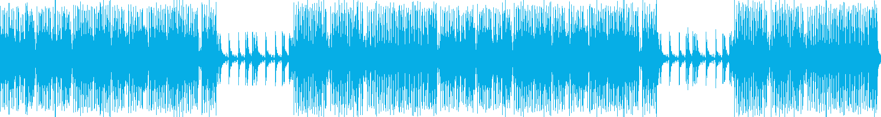和風 お祭り 生演奏三味線_笛_太鼓 の再生済みの波形