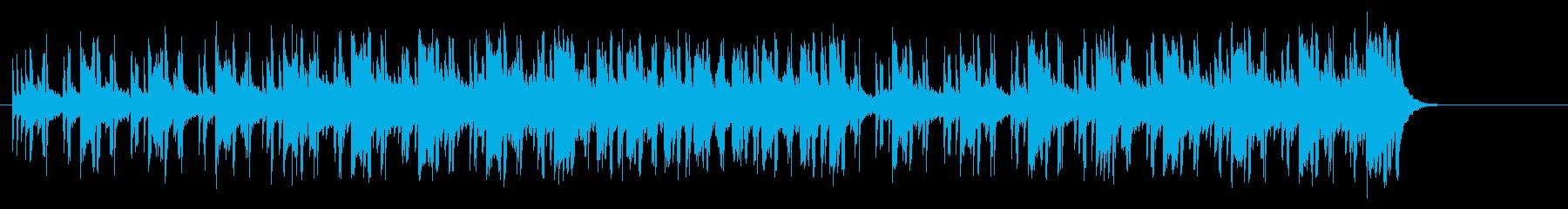 広がりを感じる情報向けポップ/BGの再生済みの波形