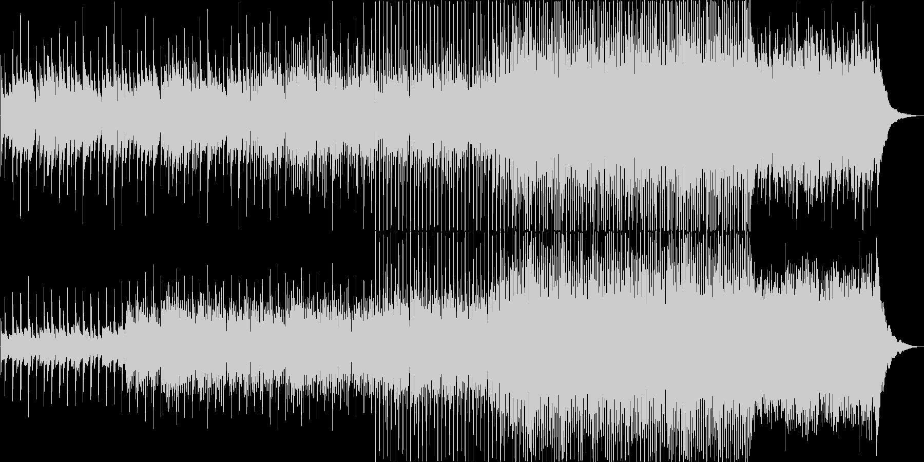 ボナペティな雰囲気のアコギインストの未再生の波形