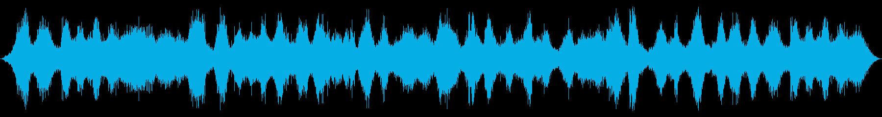 海洋:非常に重い波の再生済みの波形