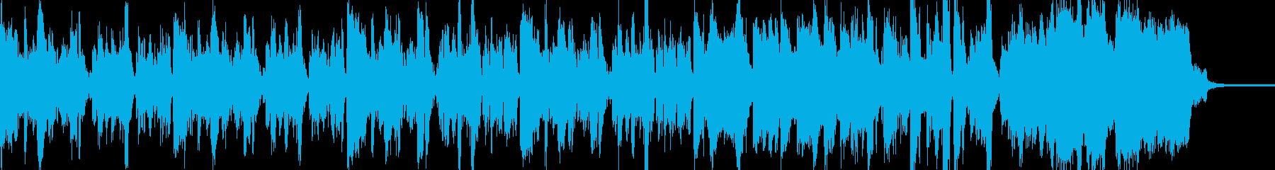 アーティスティックなインストジャズの再生済みの波形