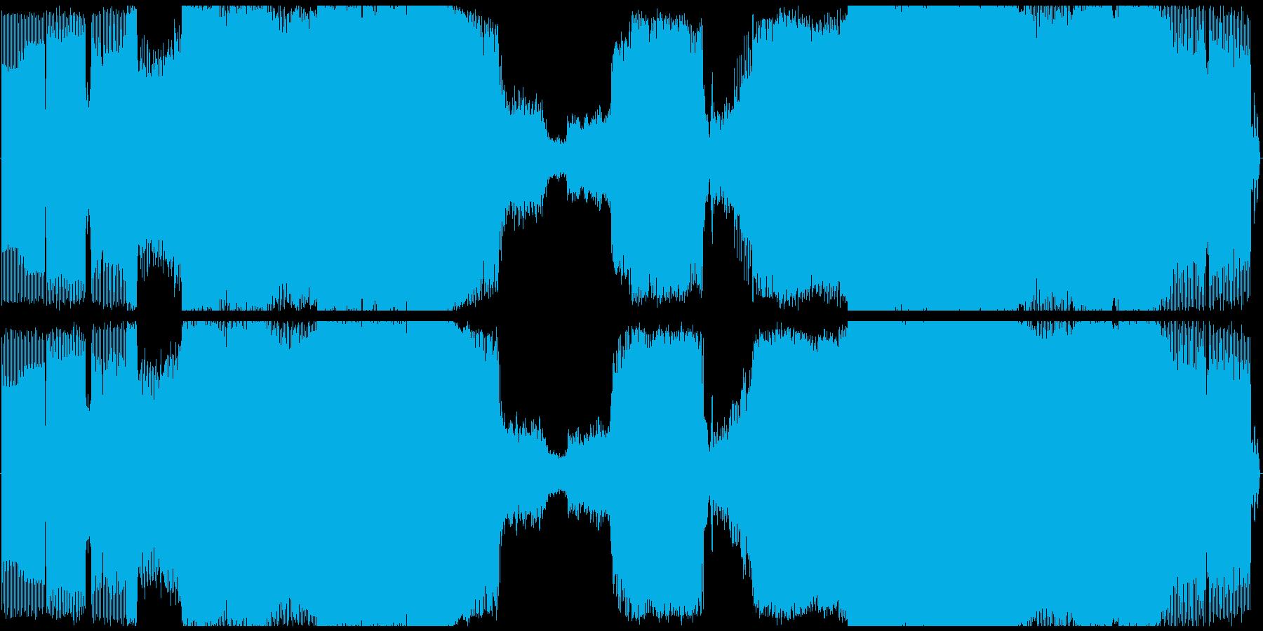 ハウス ダンス プログレッシブ ト...の再生済みの波形
