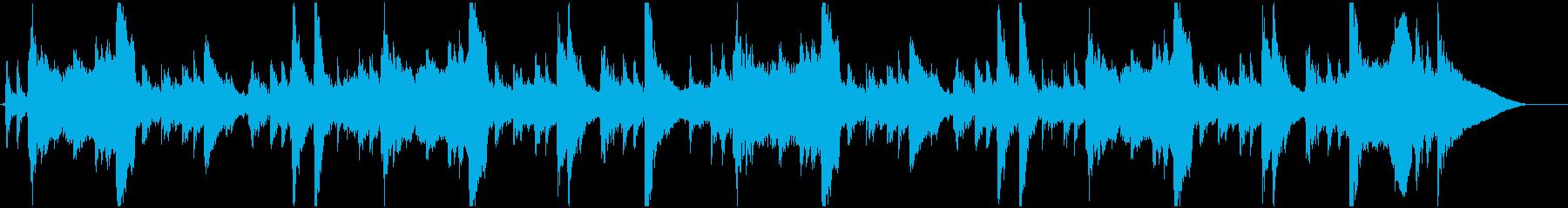 琴、尺八、三味線と祭囃子の和風曲 22秒の再生済みの波形