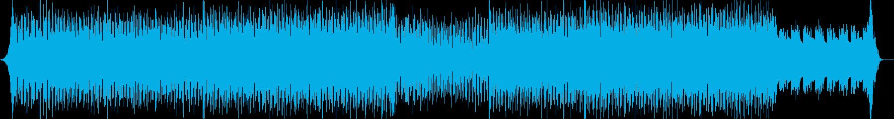 シンプル・ナレーションバック-02の再生済みの波形