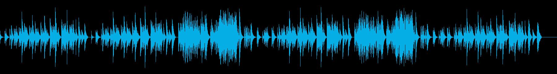 キラキラ星変奏曲(VarXⅠ)オルゴールの再生済みの波形