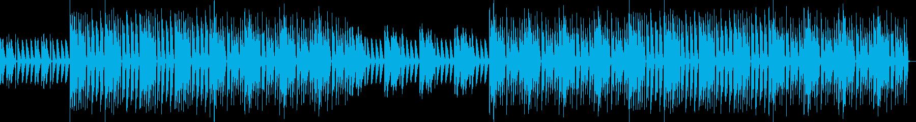 おしゃれ・低音重視・EDM・ベース12の再生済みの波形