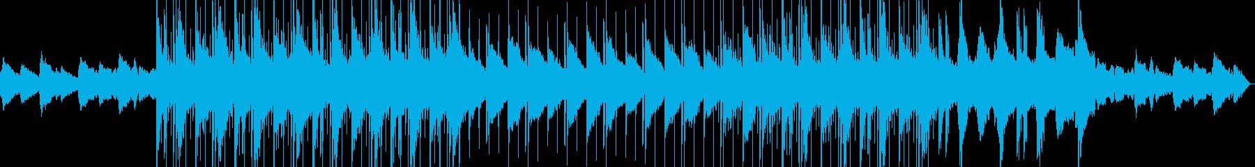 憂いな雰囲気のLo-fi Hiphopの再生済みの波形