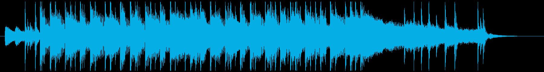 爽やかロック系OPの再生済みの波形