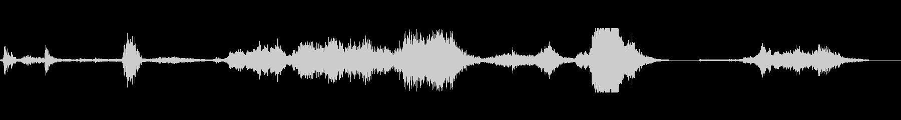 金属スクリーキーキールハイの未再生の波形