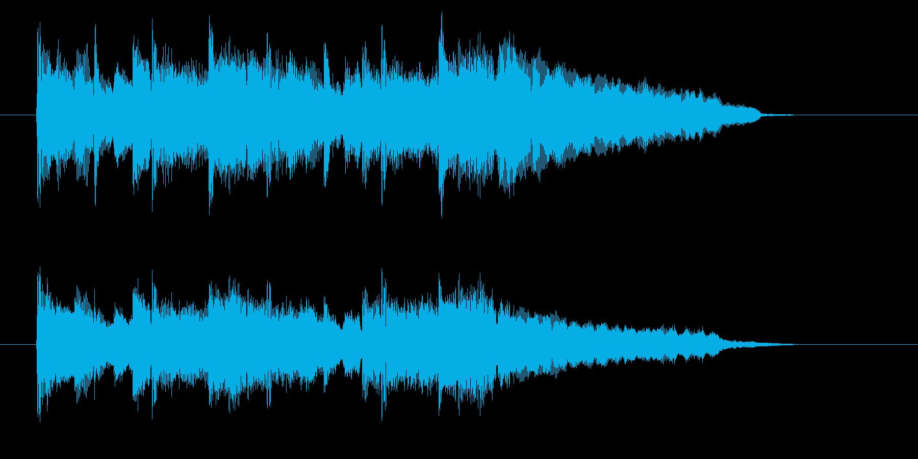 近代的なバルカローレ風の再生済みの波形