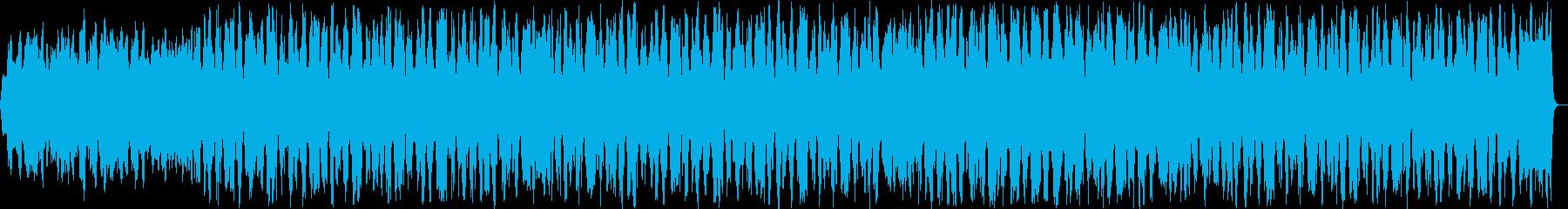 切ないシンセ・ピアノサウンドの再生済みの波形