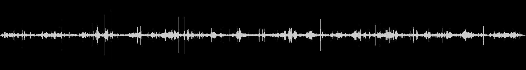 波の音~ペチャペチャ音3 癒し【生録音】の未再生の波形