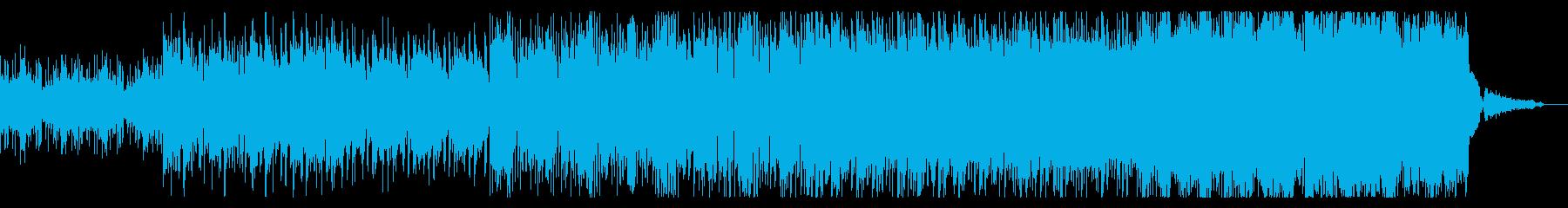 エスニックでハイブリッドなIDMの再生済みの波形