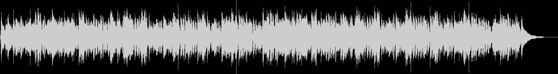 ケルトハープとアコギの穏やかな3拍子の未再生の波形