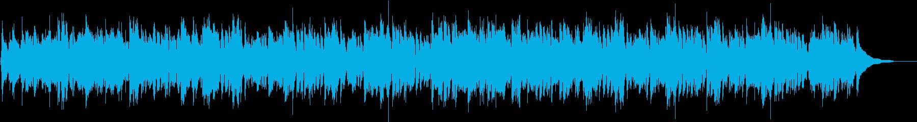 ケルトハープとアコギの穏やかな3拍子の再生済みの波形