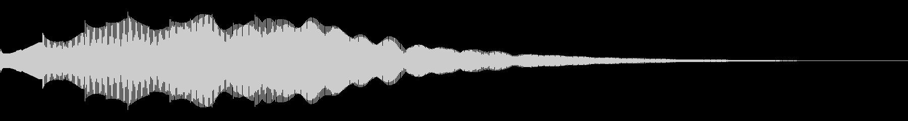 マレット系サウンドロゴ、ジングルの未再生の波形