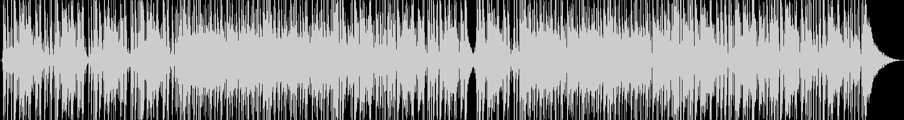 タイトで硬派なドラムメインのロックの未再生の波形