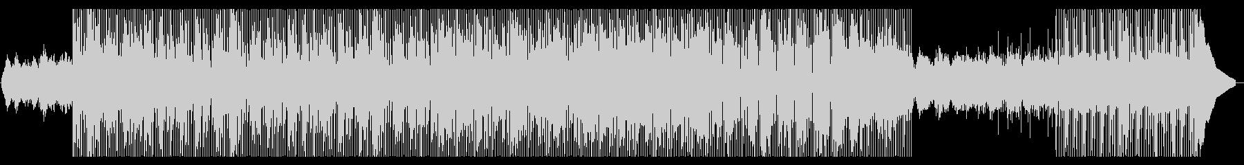 デトックスな印象とテンポなサウンドの未再生の波形