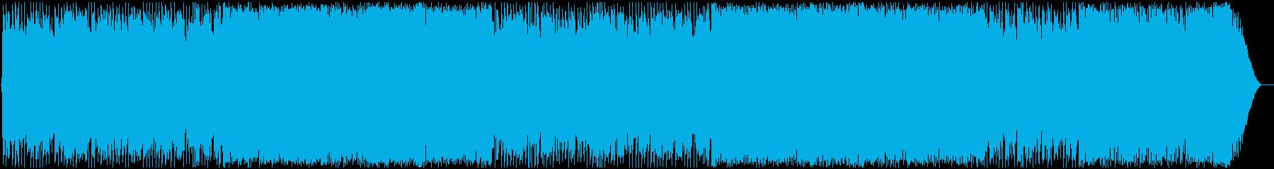 壮大な疾走感!洋楽風かっこいいロック激しの再生済みの波形