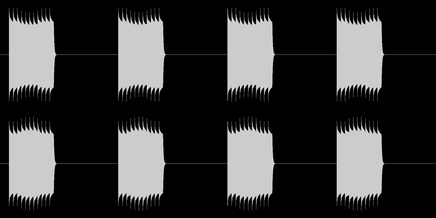 ピリリリリリリ(ループ使用)の未再生の波形