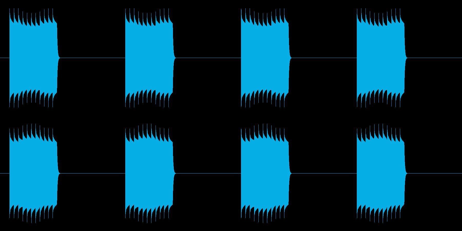ピリリリリリリ(ループ使用)の再生済みの波形