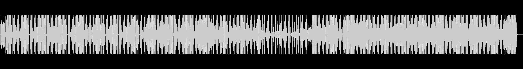 80年代風ミディアムテンポのファンクの未再生の波形
