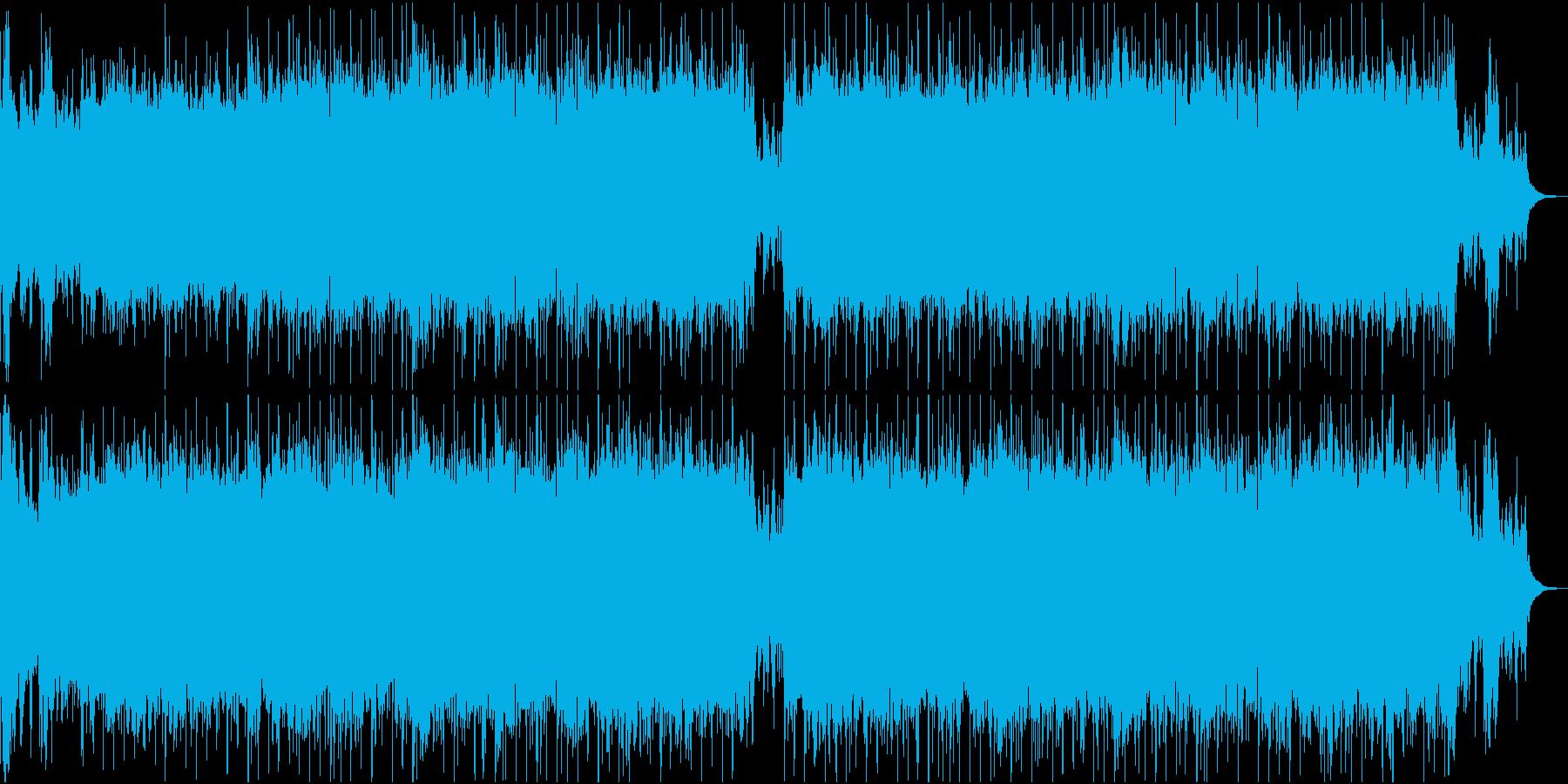 エンドロールに最適な感動系ギターインストの再生済みの波形