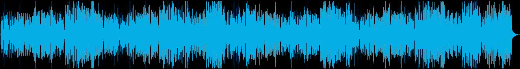 ほのぼの楽しい日常曲の再生済みの波形