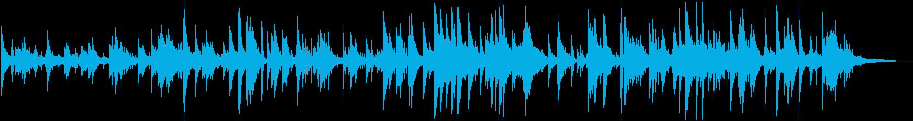 秋の気配 哀愁Jazz ピアノ サックスの再生済みの波形