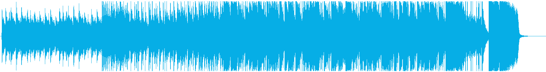 ★リズミカルなピアノが印象的なセッションの再生済みの波形