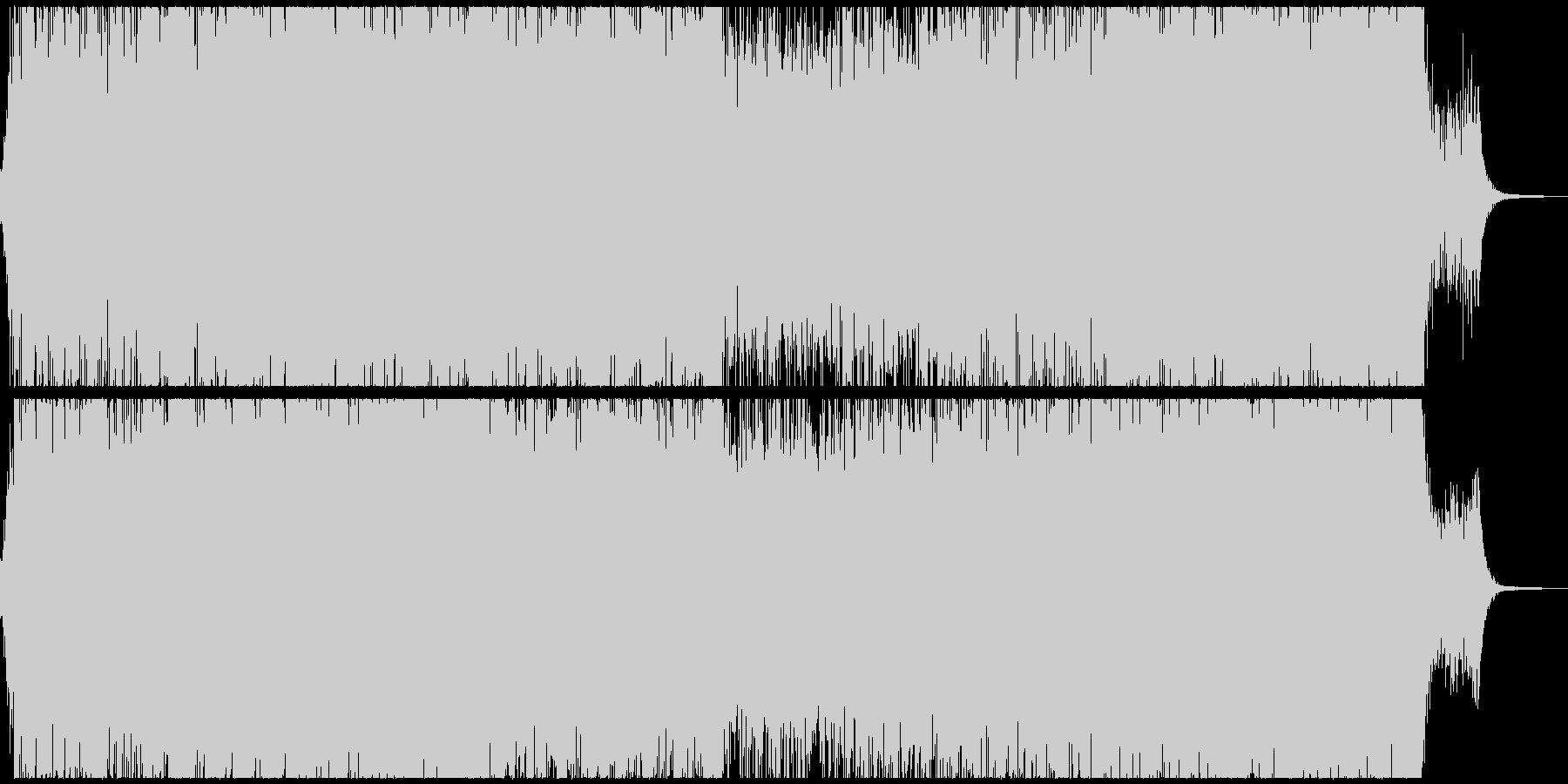 ダークなサスペンスシネマ風サウンドの未再生の波形
