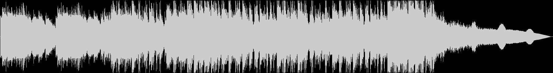 ゲームの戦闘イメージのピアノデジロックの未再生の波形