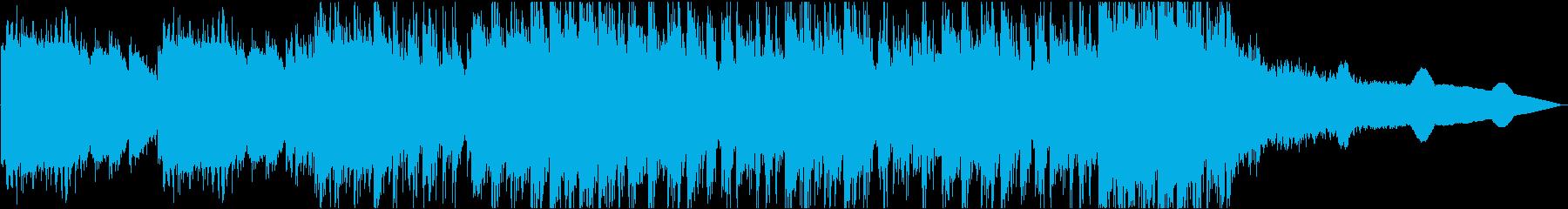 ゲームの戦闘イメージのピアノデジロックの再生済みの波形