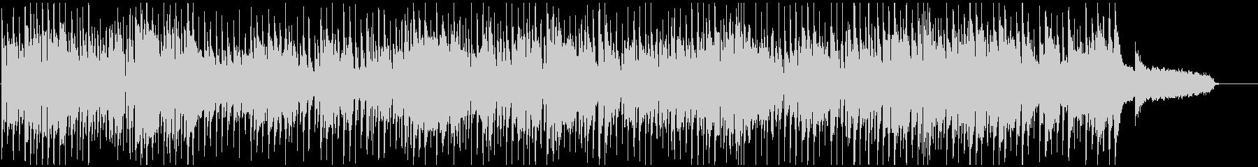 ノリノリなサックス生演奏のクラブジャズの未再生の波形