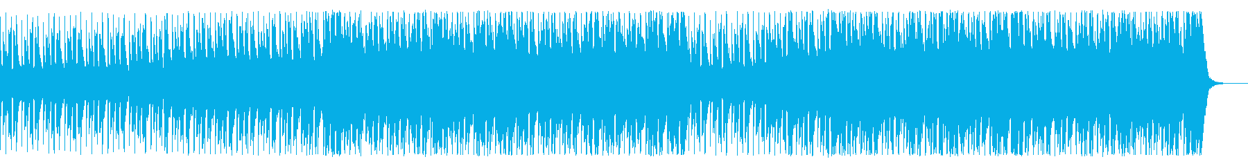 希望に向かって走り出すBGMの再生済みの波形