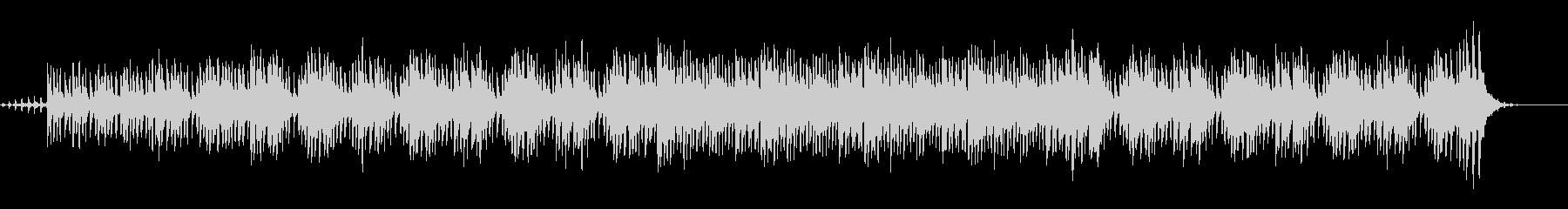 ファンタジーの世界で流れる木琴BGMの未再生の波形