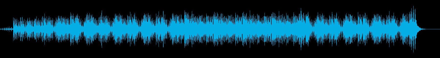 ファンタジーの世界で流れる木琴BGMの再生済みの波形
