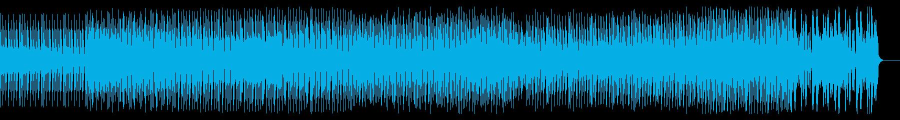 ダークで緊迫感のあるサスペンスBGMの再生済みの波形
