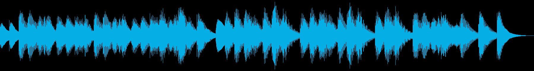 ヴィヴァルディ「春」軽やかマリンバの再生済みの波形