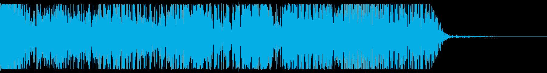 モーフグレインエクスプロージョン、...の再生済みの波形