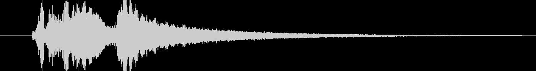 スペーススイープバージョン2の未再生の波形