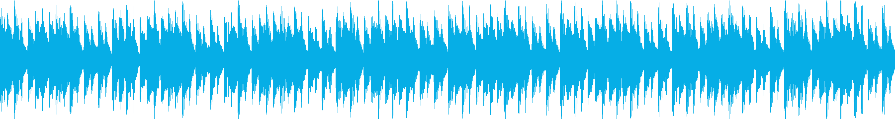 ファンキーなテック/ハウスは、ポジ...の再生済みの波形